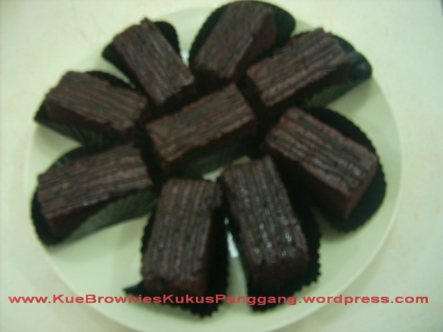 Kue Brownies Coklat KUKUS, www.KueBrowniesKukusPanggang.wordpress.com ...